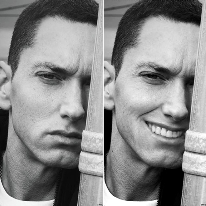 If Eminem learned to smile...