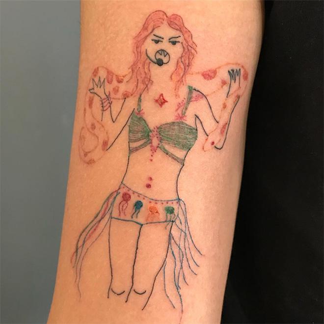 Tattoo Artist Sketch Tattoo Drawings