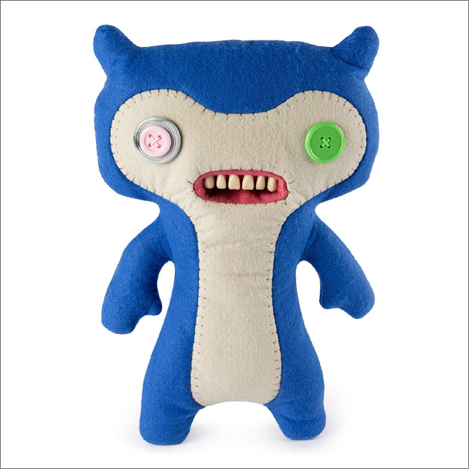 This creepy thing is called a Fuggler: it's a toy with human teeth.