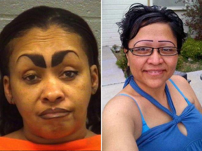 Funny eyebrows fails.
