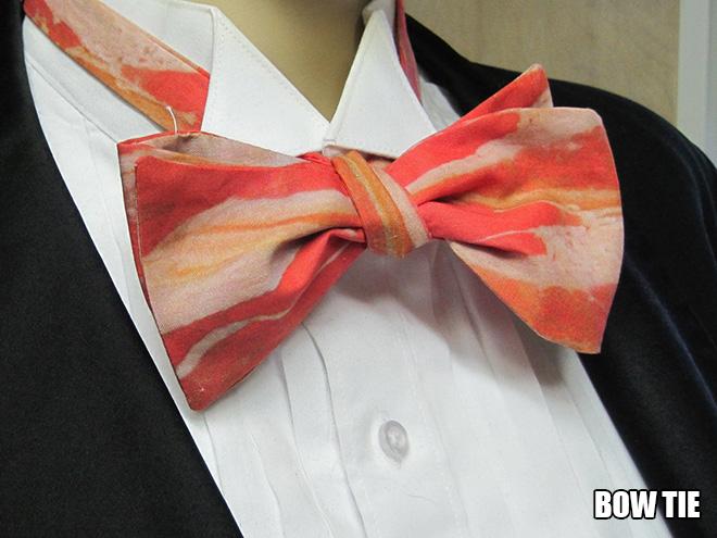 Bacon bow tie.