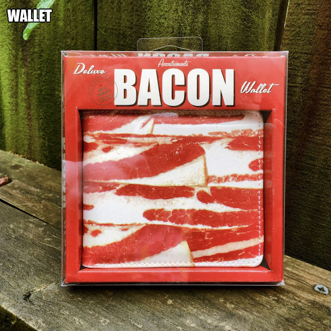 Bacon wallet.