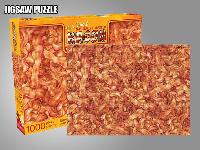 Bacon jigsaw puzzle.