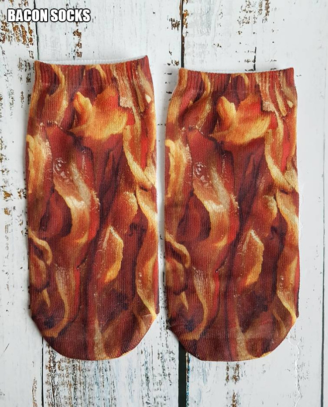 Bacon socks.