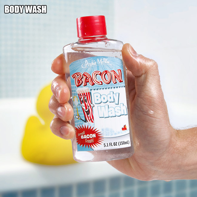 Bacon body wash.