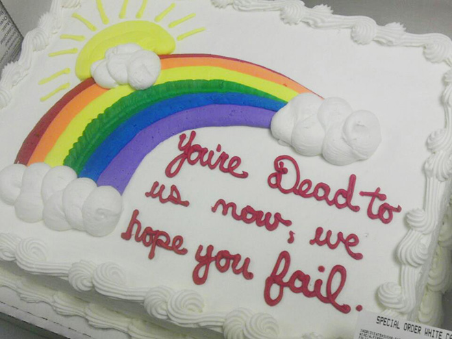 Say it with a delicious cake!