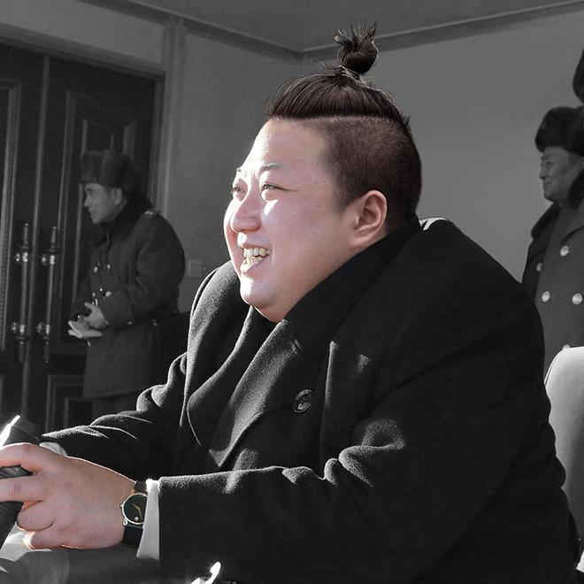 Does man bun look good on him?