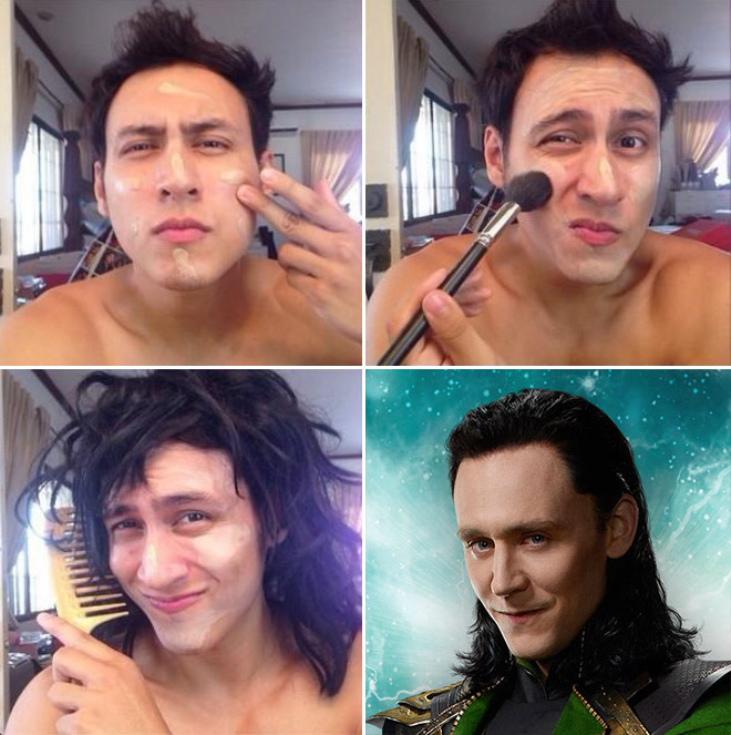 The Most Amazing Makeup Transformations Ever