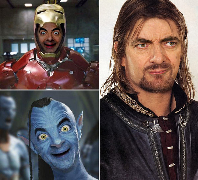 Mr. Bean in a new and unusual roles.
