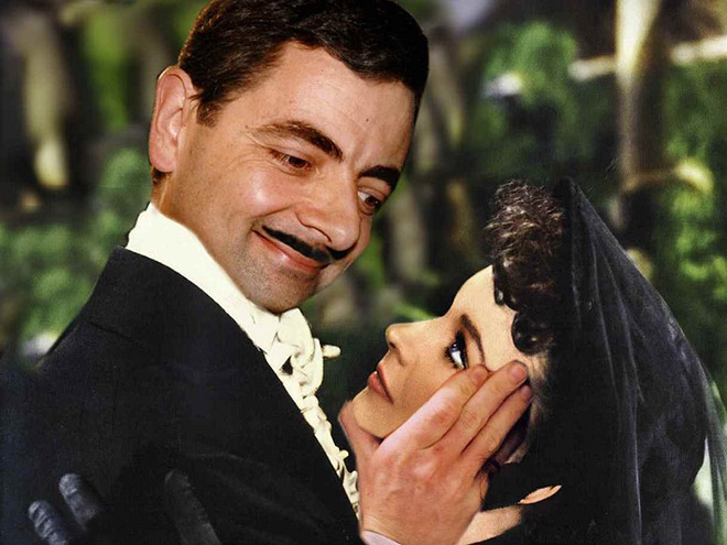 Mr. Bean in a new and unusual role.