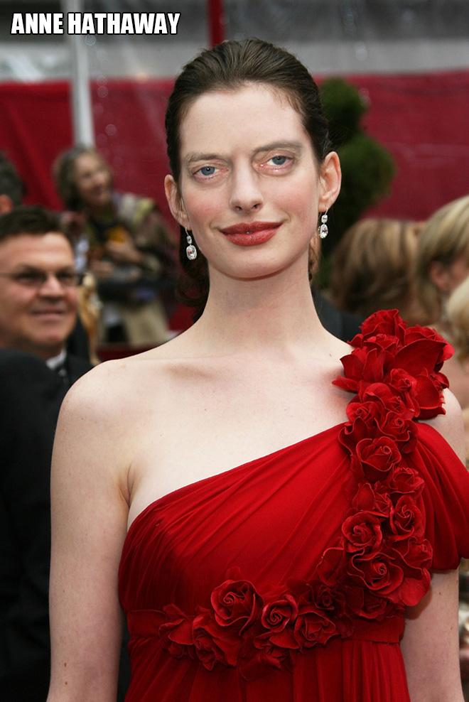 She looks amazing with Steve Buscemi eyes!