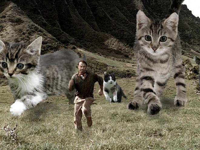 Jurassic Park: Cat Edition.