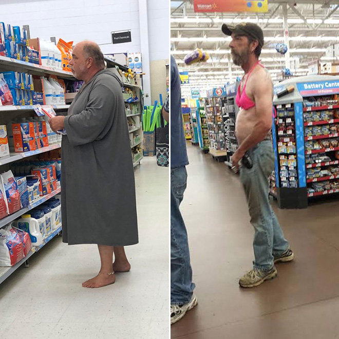 Walmart Fashion: The Craziest Outfits Spotted at Walmart