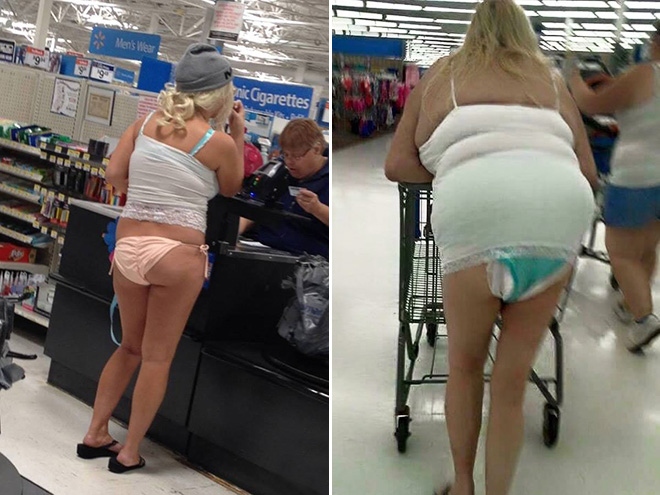 People of Walmart... are crazy fashionable.