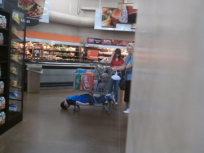 Random act of extreme laziness.
