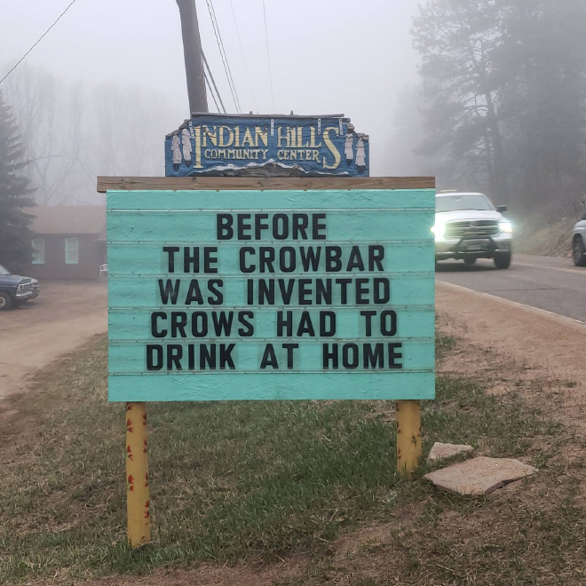 Brilliant sign. Simply perfect.