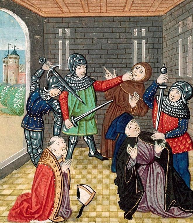 Cheerful medieval art.