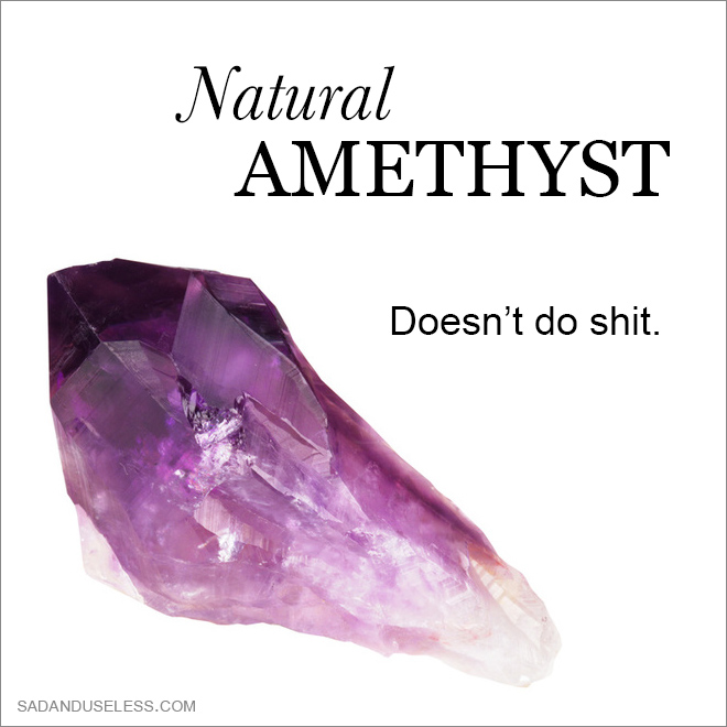 The real power of a crystal.