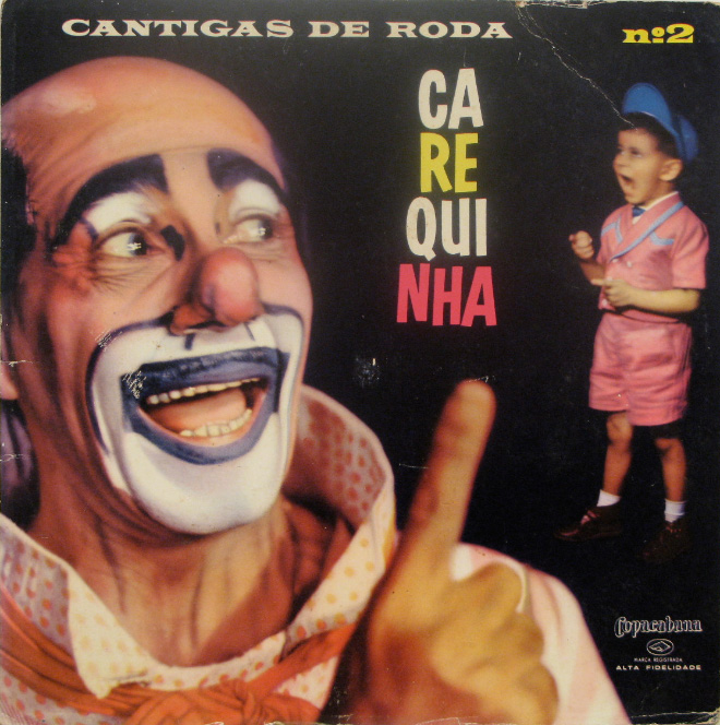 Creepy vintage album cover.