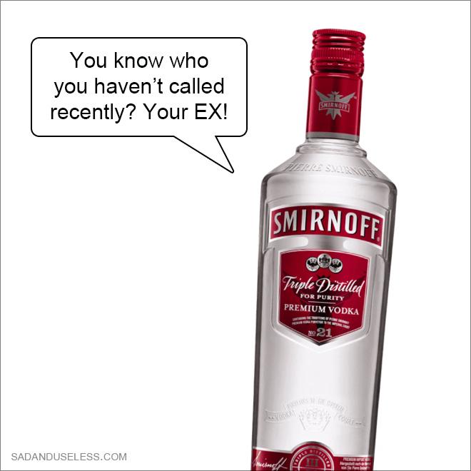 Scumbag booze advice.