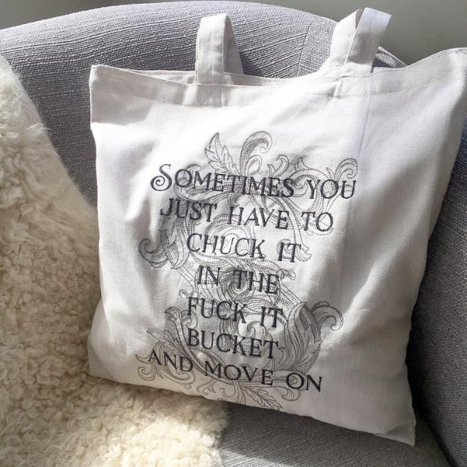 Funny bag.