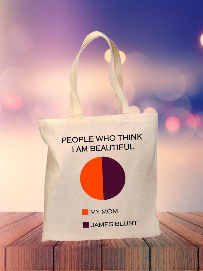 Funny shopping bag.