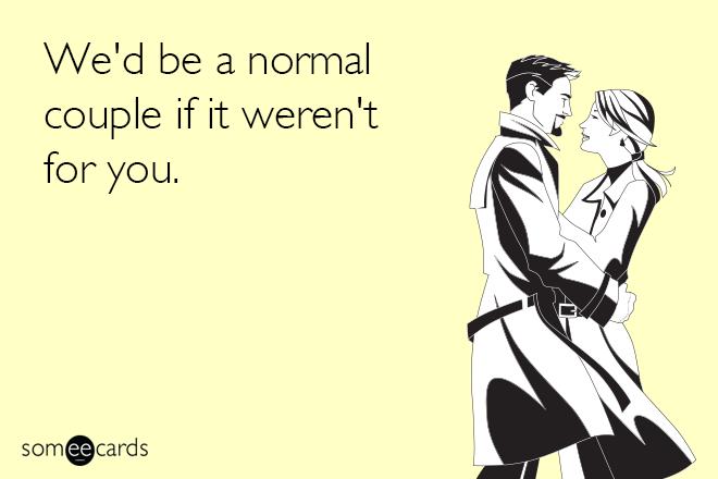 Honest Valentine's day love card.
