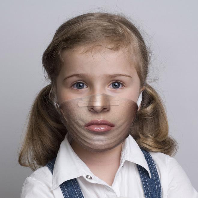 Unusual Coronavirus protection mask.
