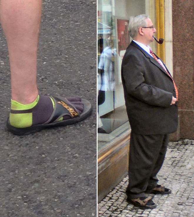 World S Greatest Gallery Of Men In Socks And Sandals