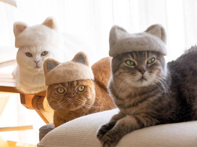 Fur hats.