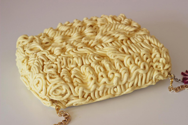 Ramen handbag.