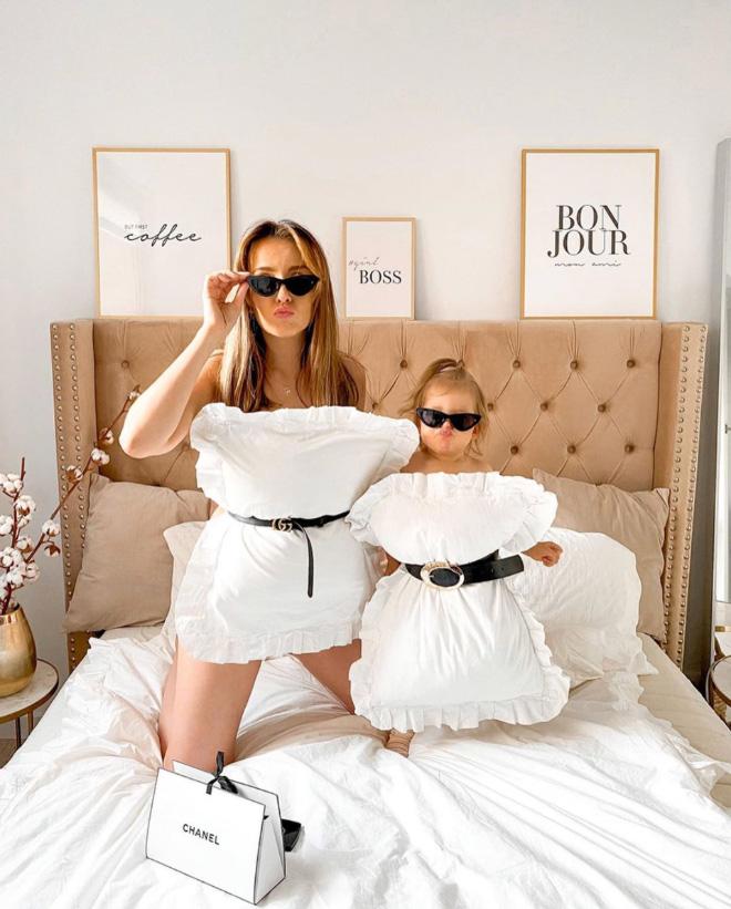 The pillow dress challenge.