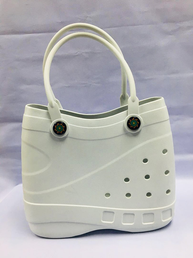 Crocs beach bag is the creation nobody asked for: truly vile crime against fashion.