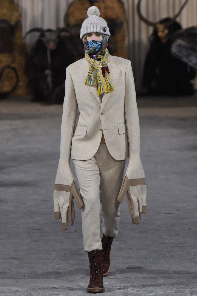 Men's fashion by Walter Van Beirendonck.