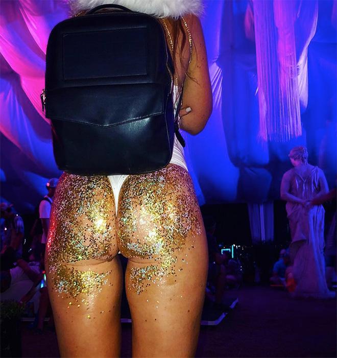 Glitter butt trend is strong this Summer.