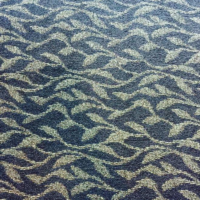 Boring hotel carpet.