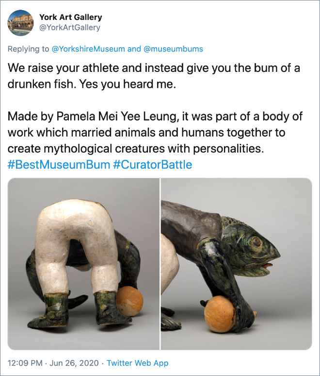 We raise your athlete and instead give you the bum of a drunken fish. Yes you heard me.