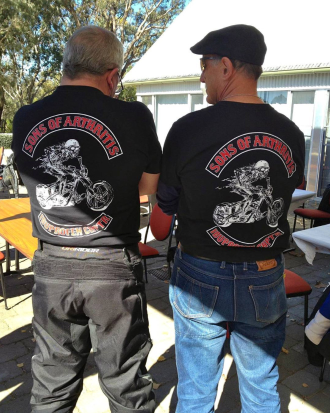 A biker club that nobody wants to join.