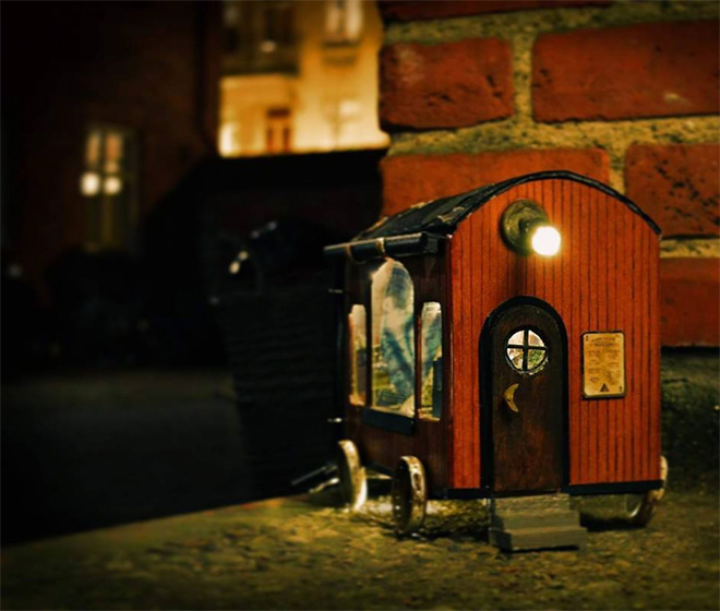 Tiny house for mouses.