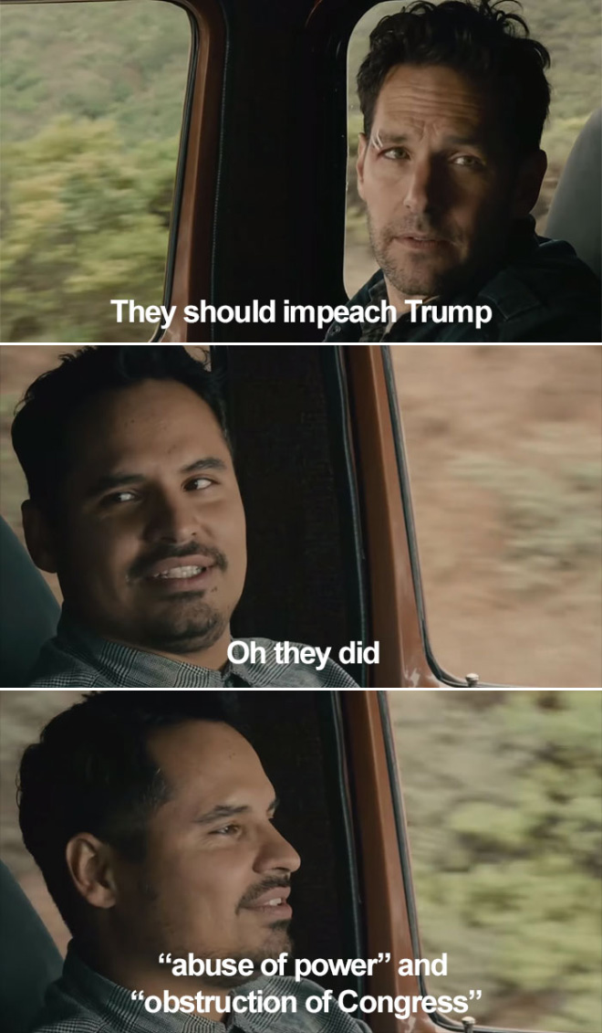 They should impeach Trump.