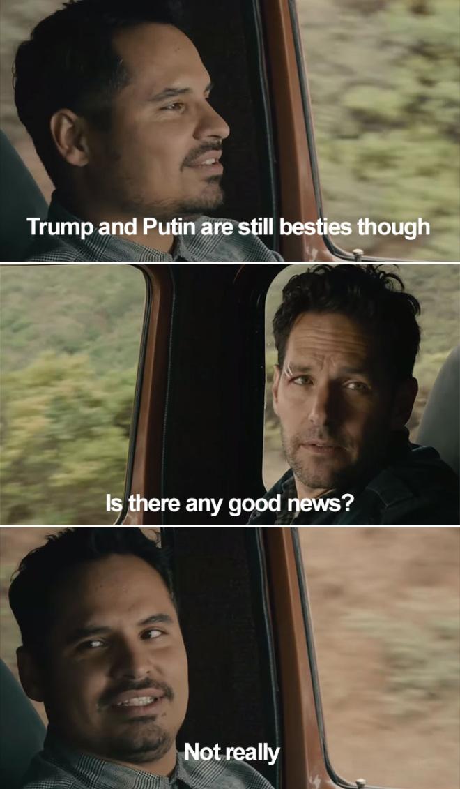 Any good news?