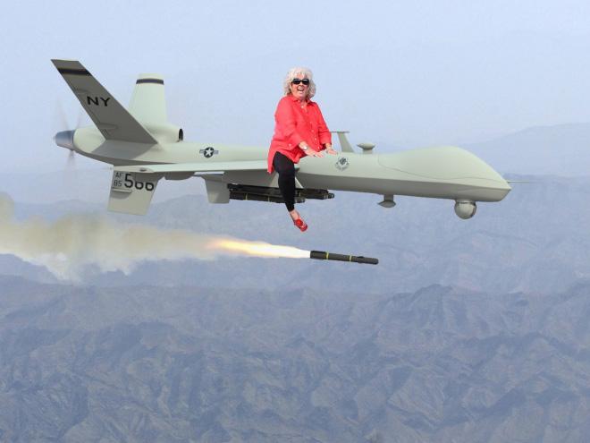 Paula Deen riding things.