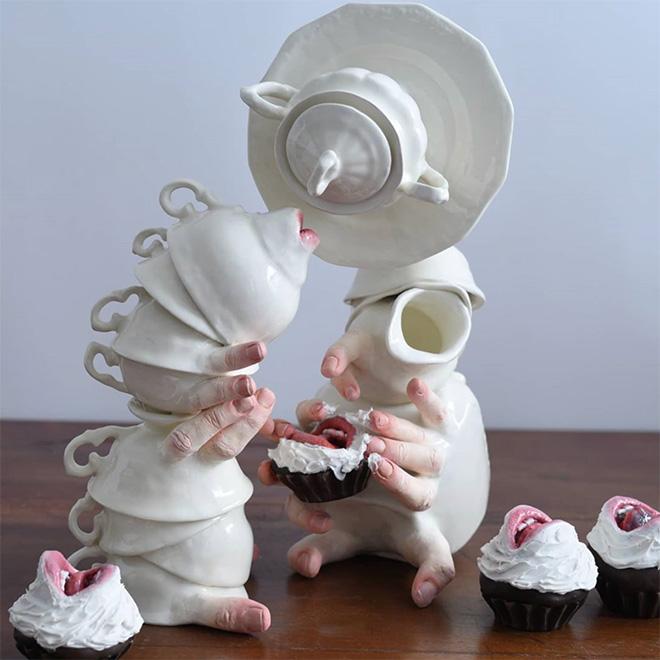 Alive ceramics.
