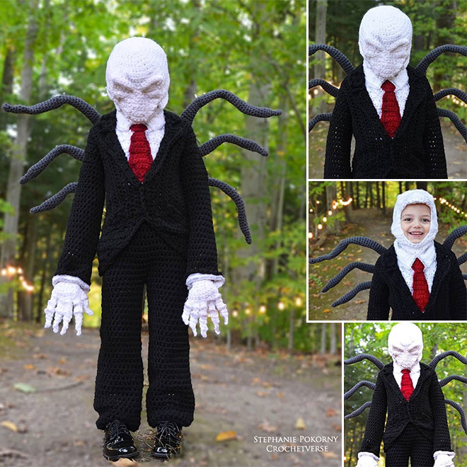 Everyone's favorite cryptid: Slenderman.