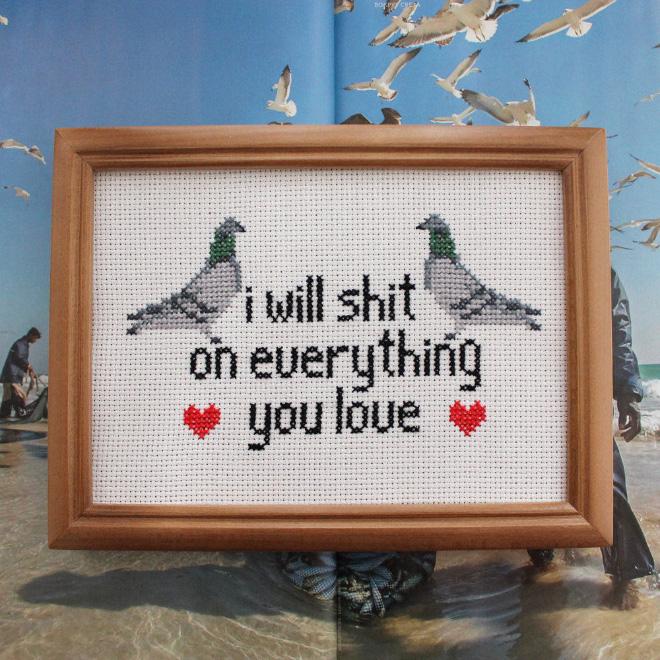 Brilliant cross stitch.