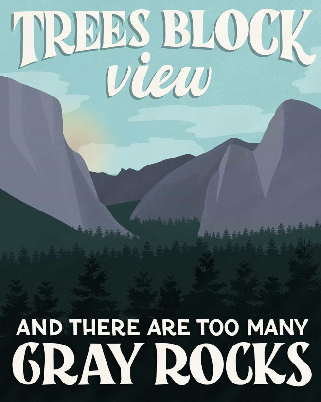 One-star national park review.