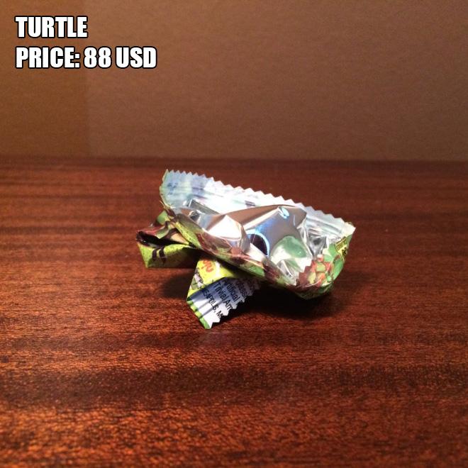 Terrible origami.