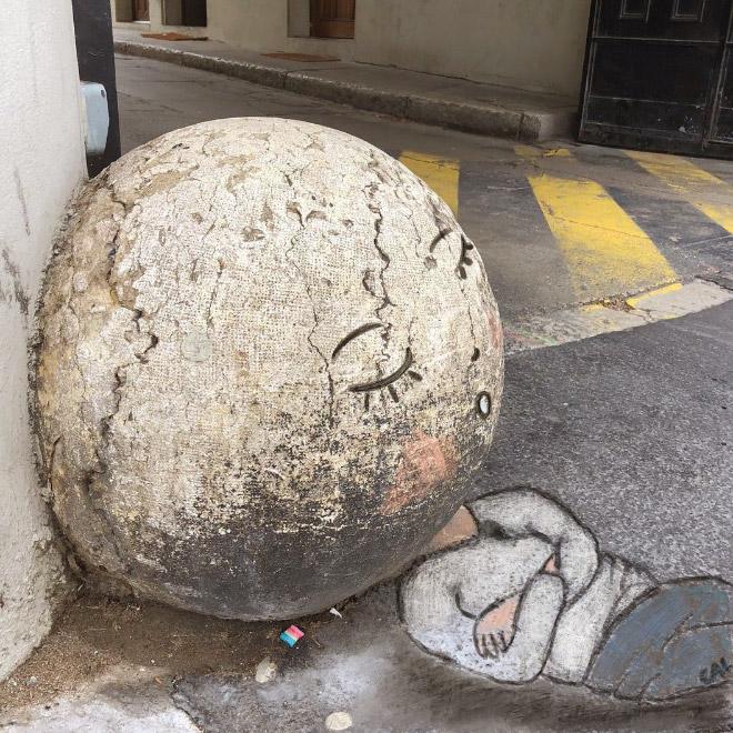 Clever street art.