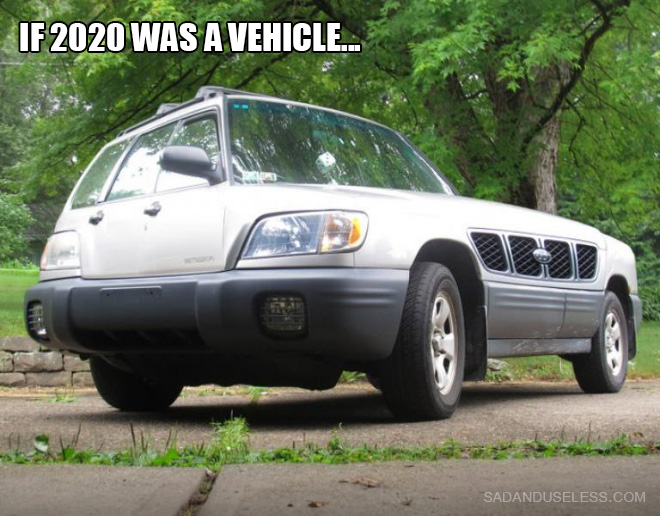 If 2020 was a...