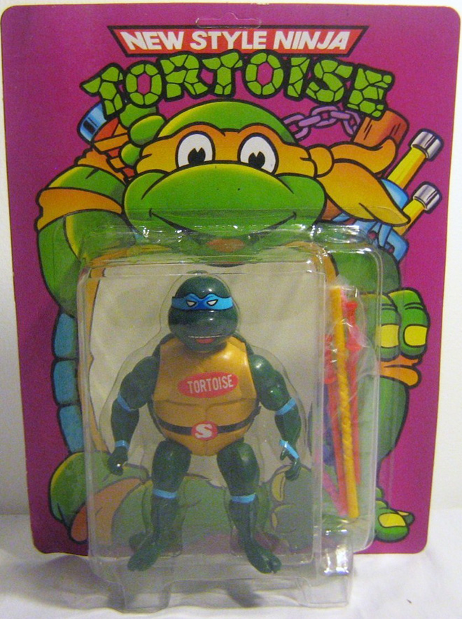 Hilariously bad bootleg toy.
